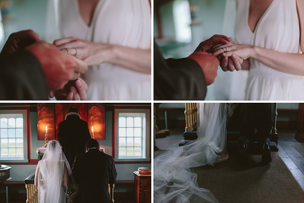 Carol Hannah - Winchester gown - Real wedding in Iceland
