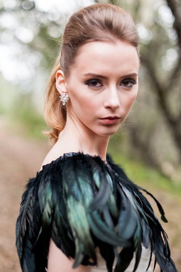 Angel Oak gown in black