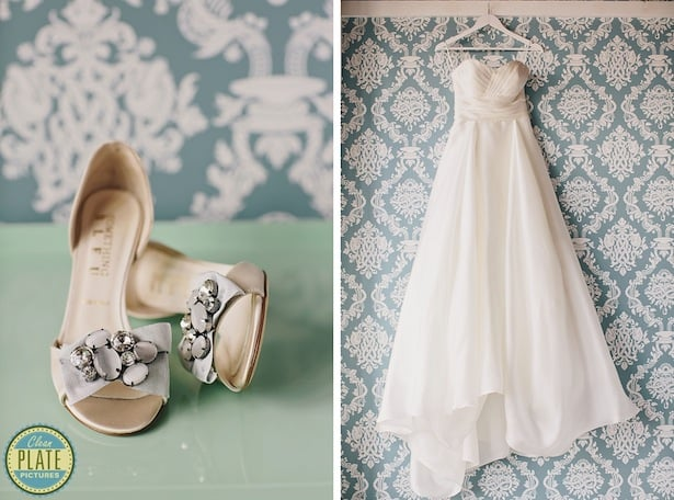 Mulberry gown + Magnolia gown