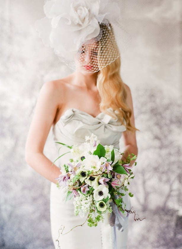 Belmont gown - Inspiration shoot with Ariella Chezar and Corbin Gurkin