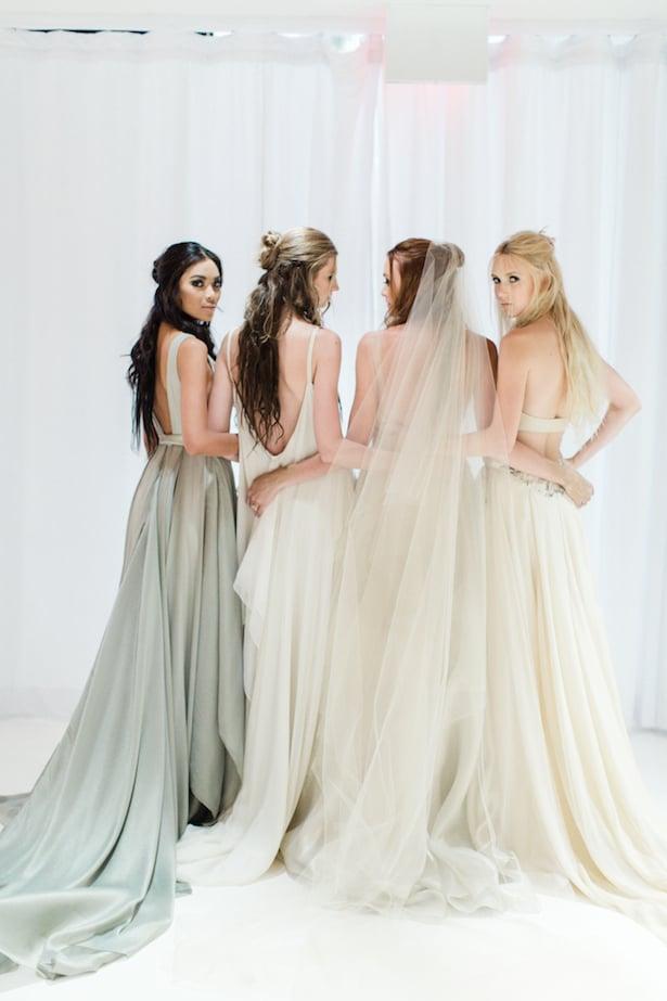 Behind the scenes Carol Hannah 2015 runway show - Azurite, Celestine, Pyrite, Gypsum