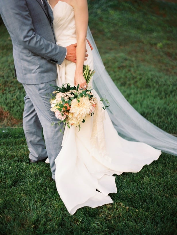 Carol Hannah real wedding Poplar gown 5