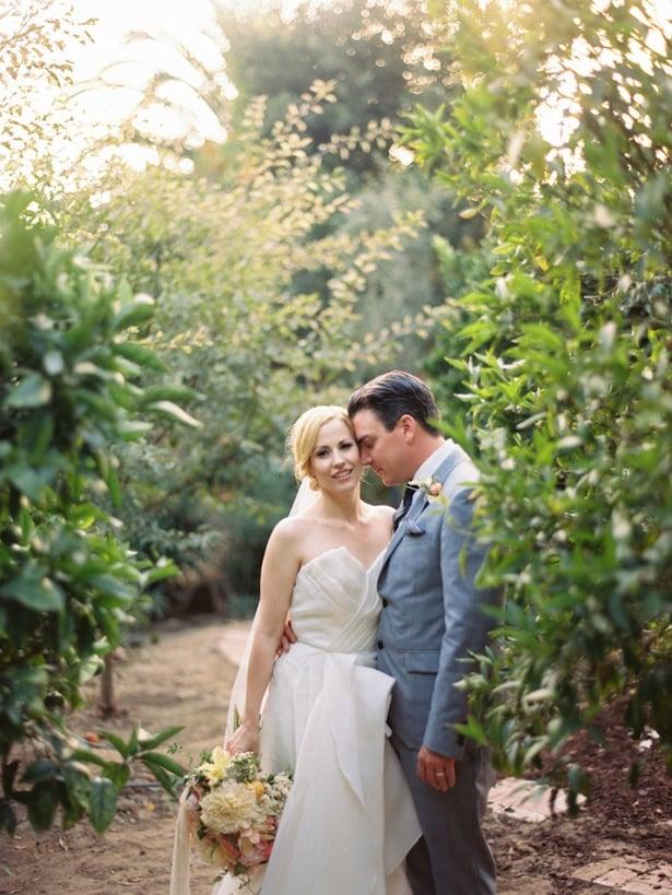 Carol Hannah real wedding - Poplar gown