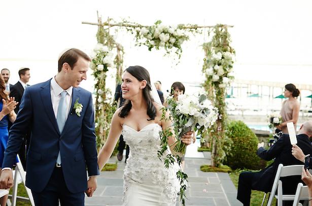 Carol Hannah Real Weddings: Versailles Trumpet Gown
