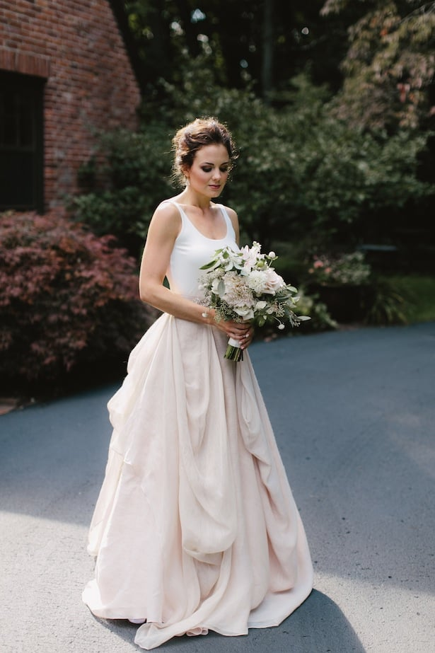 Carol Hannah Kensington gown Real Wedding