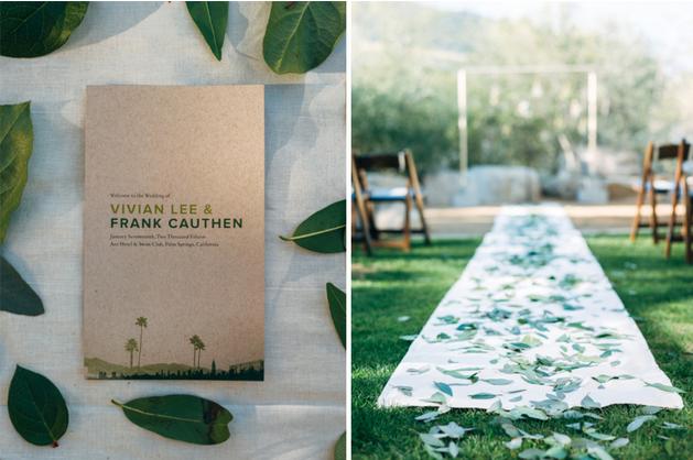 Carol Hannah - Poplar Gown real wedding - ACE Palm Springs