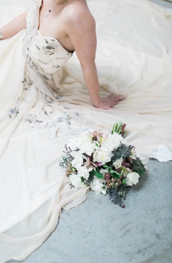 Carol Hannah Gypsum Wedding Gown inspiration