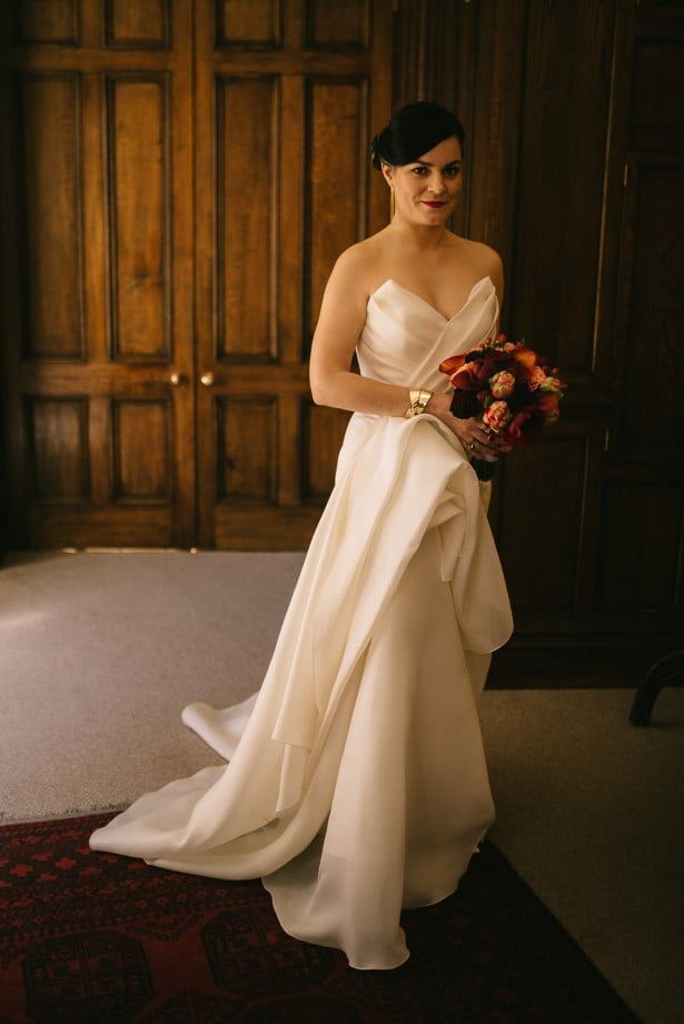 Real Weddings - Carol Hannah Poplar Gown