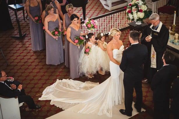 Carol Hannah Real Wedding - Belmont gown