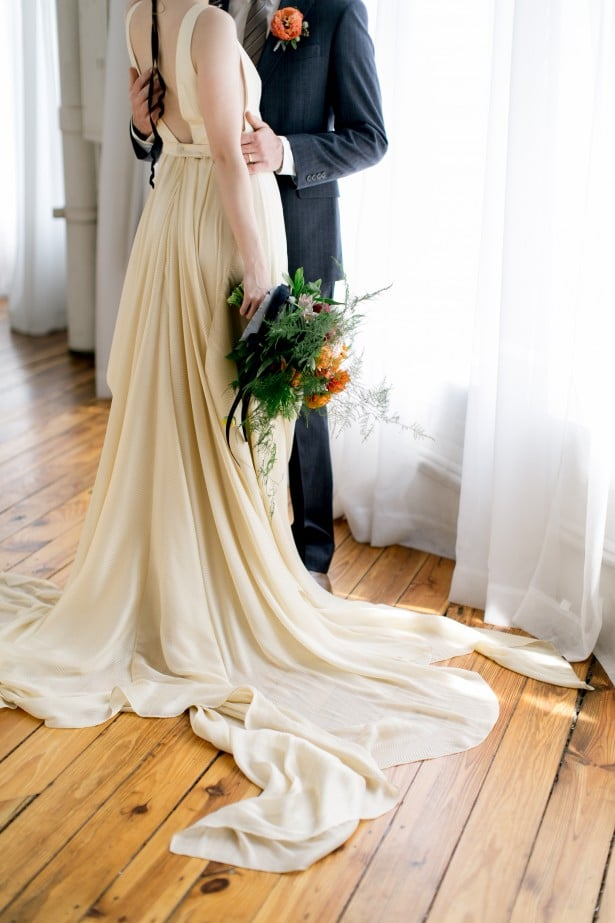 Carol Hannah Azurite in gold -Real Wedding Inspiration