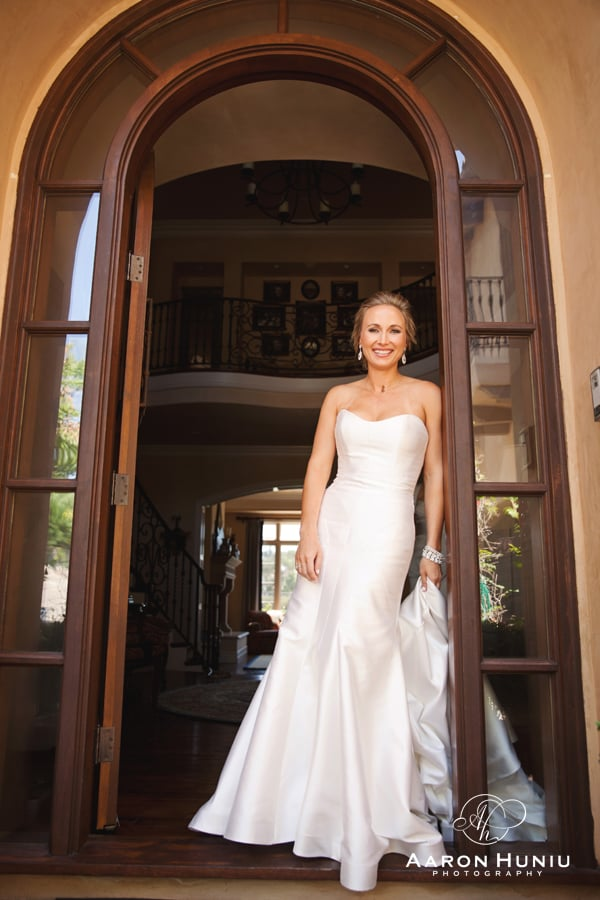 Carol Hannah Real Wedding Tourmaline gown