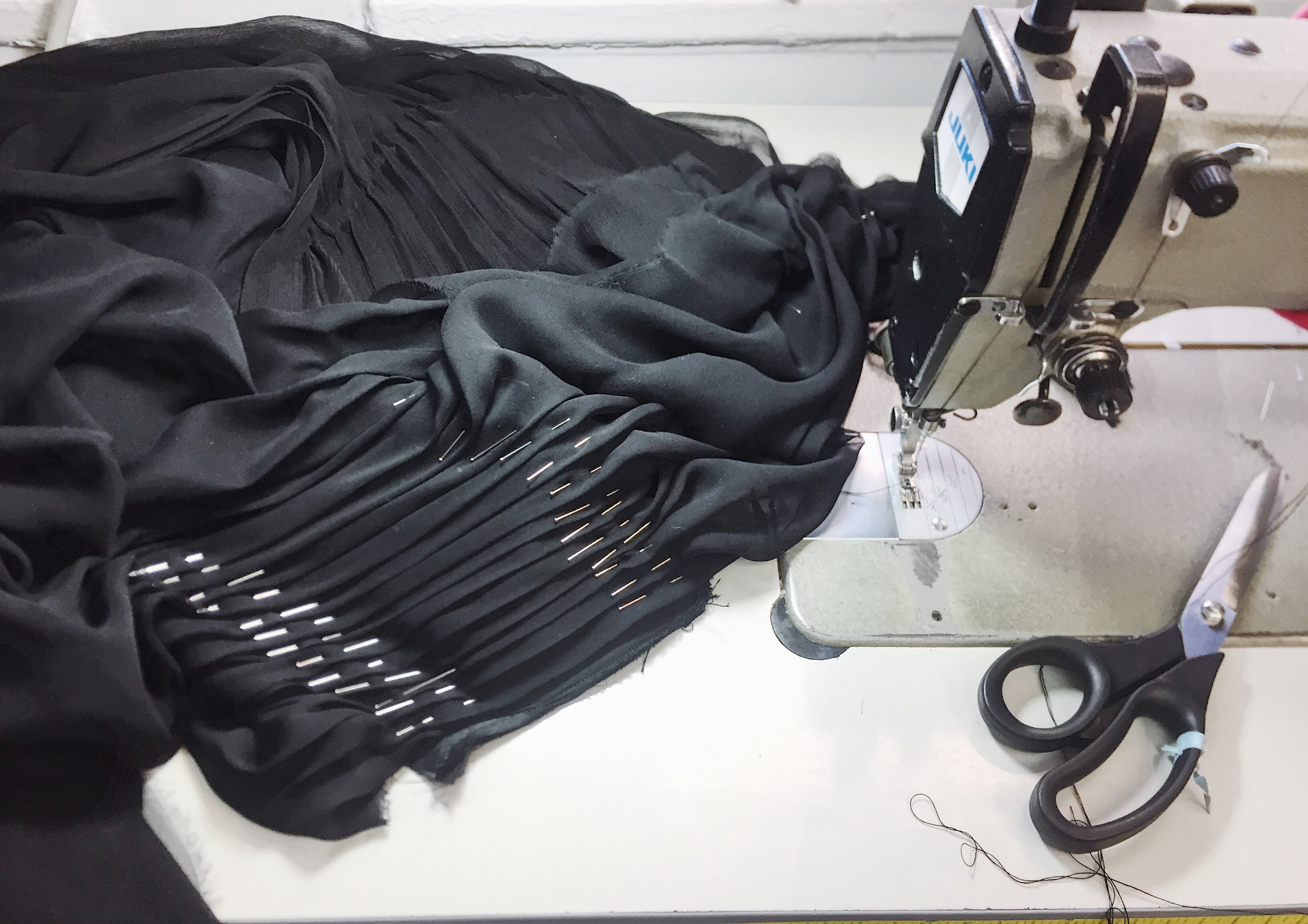 custom gown creation process