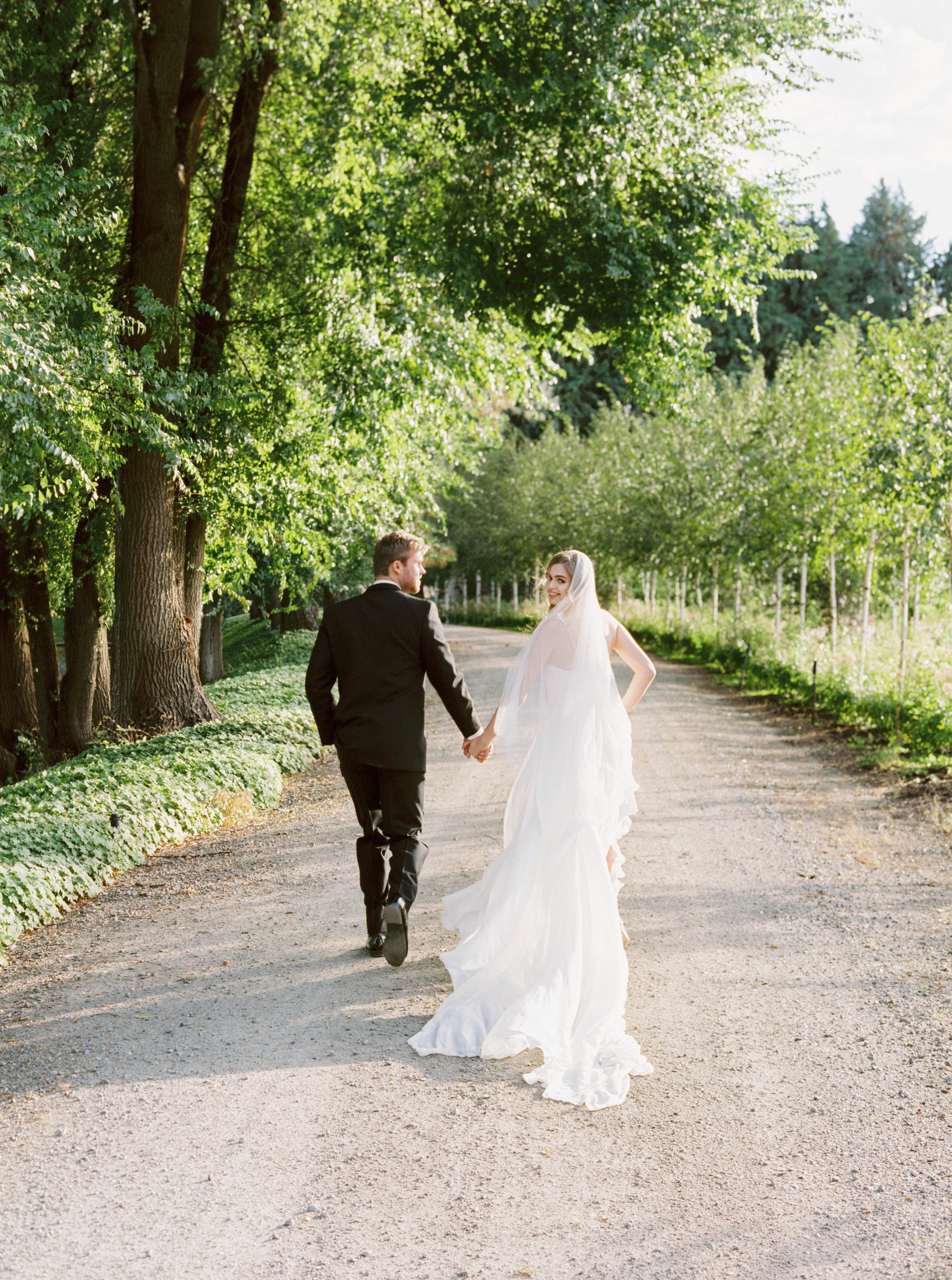 Draped grecian one shouldered flowy wedding gown - Carol Hannah Artemisia-218.jpg
