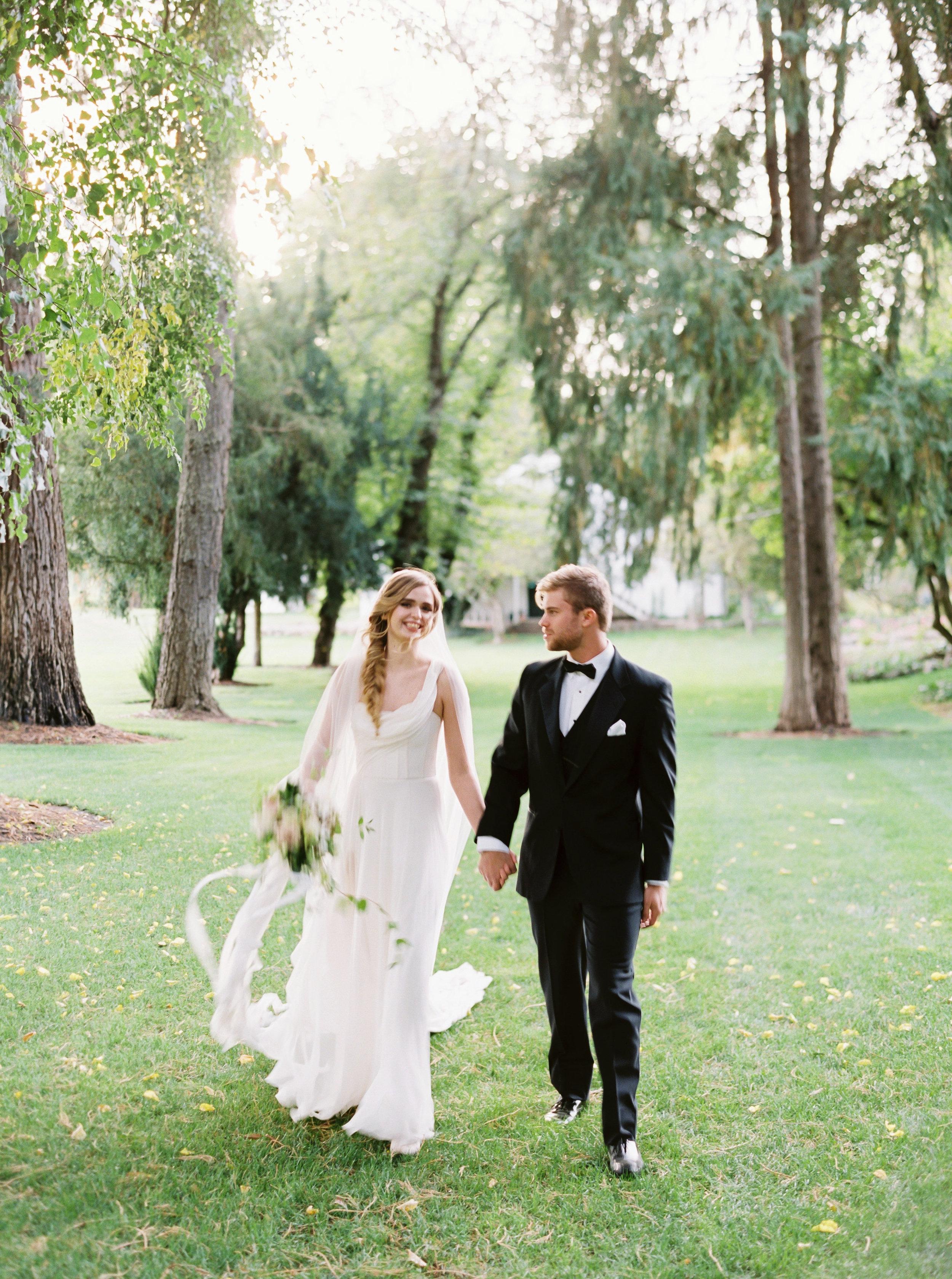 Draped grecian one shouldered flowy wedding gown - Carol Hannah Artemisia-230.jpg