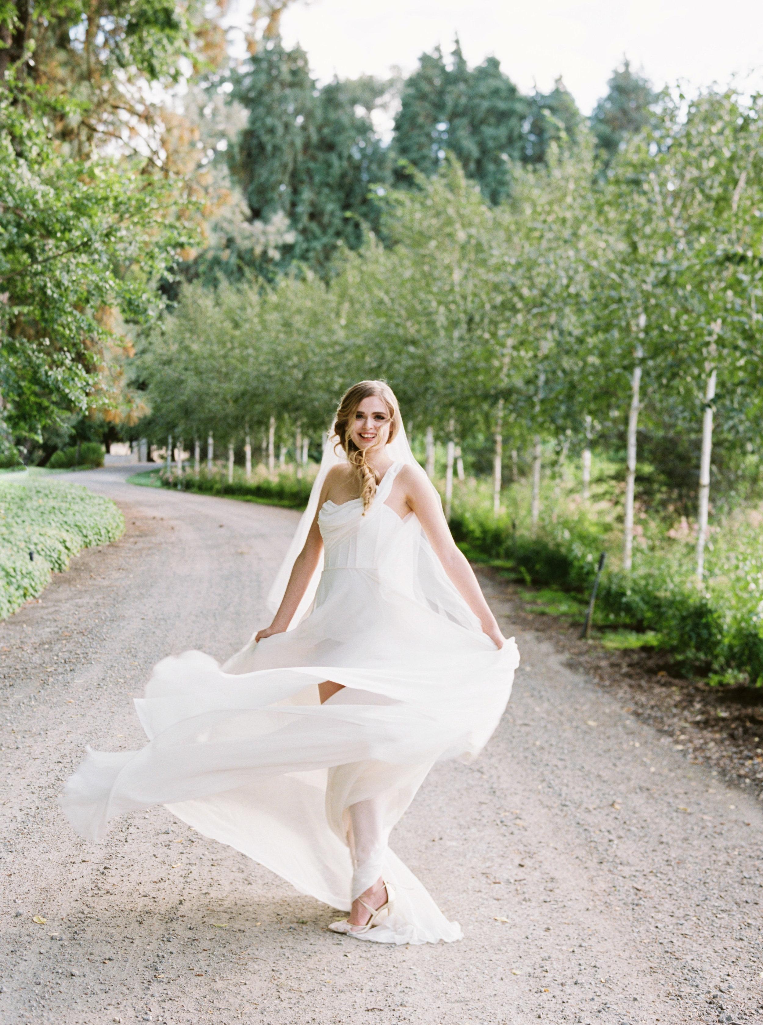 Draped grecian one shouldered flowy wedding gown - Carol Hannah Artemisia-233.jpg