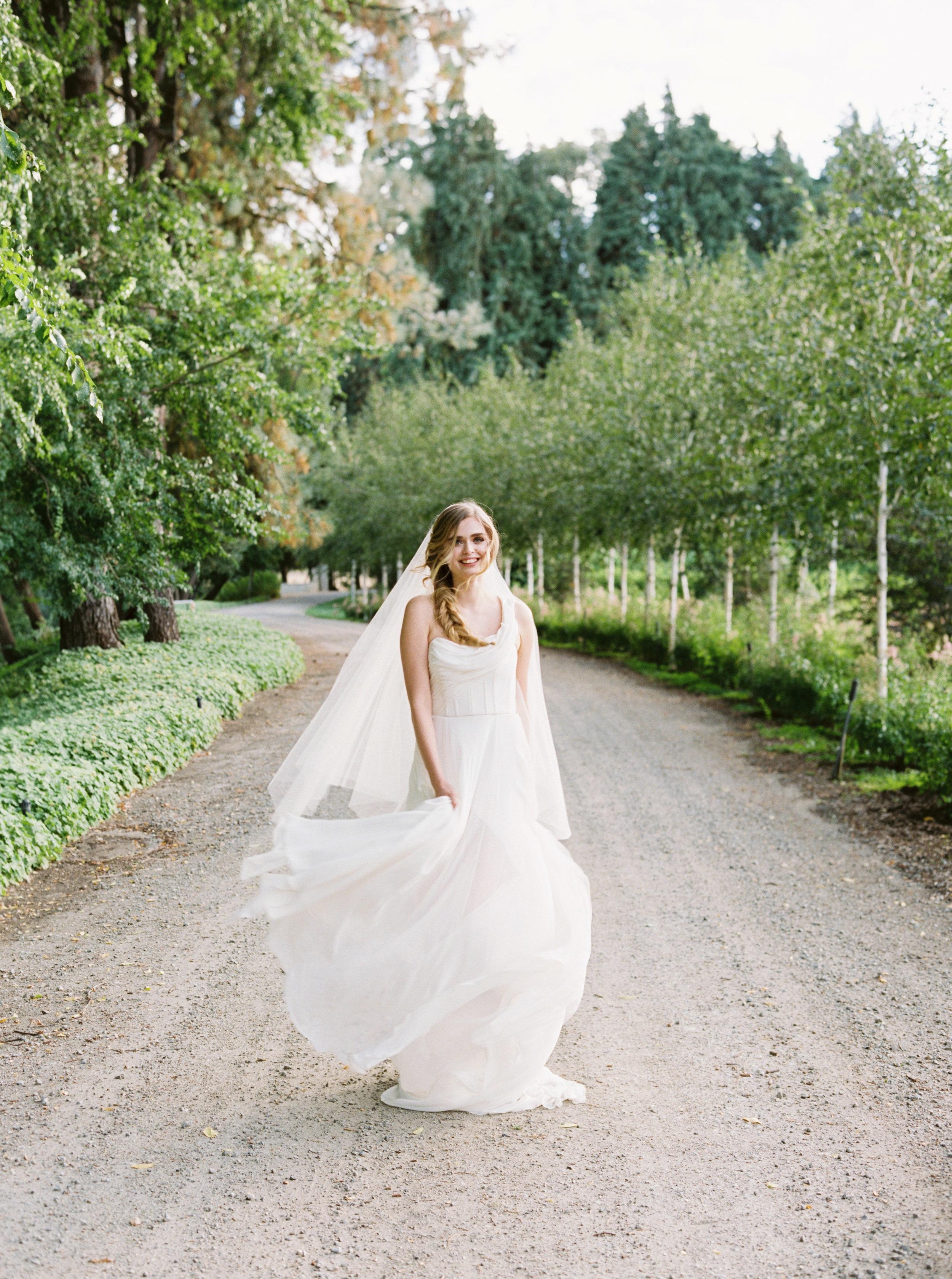 Draped grecian one shouldered flowy wedding gown - Carol Hannah Artemisia-234.jpg