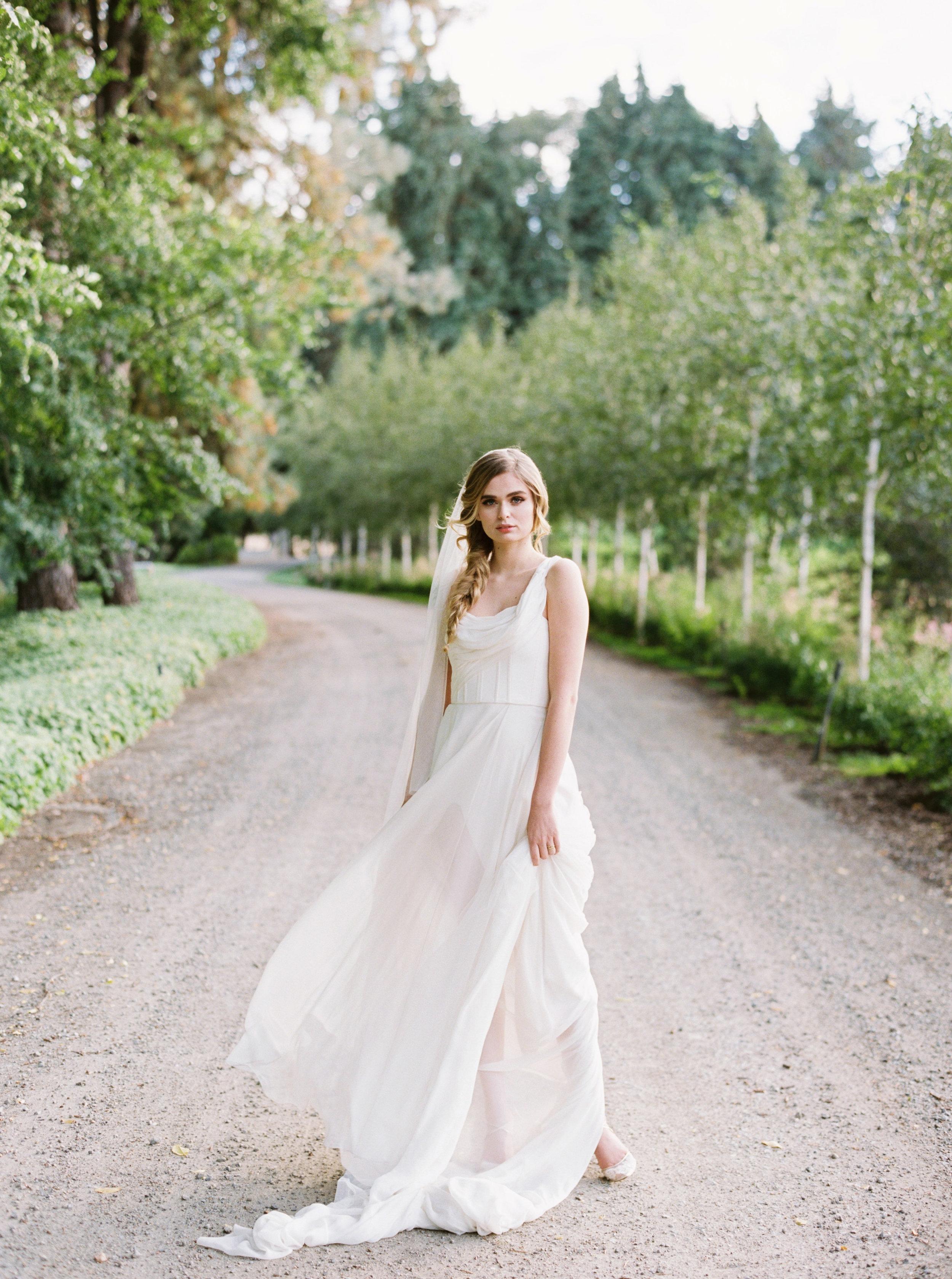 Draped grecian one shouldered flowy wedding gown - Carol Hannah Artemisia-235.jpg