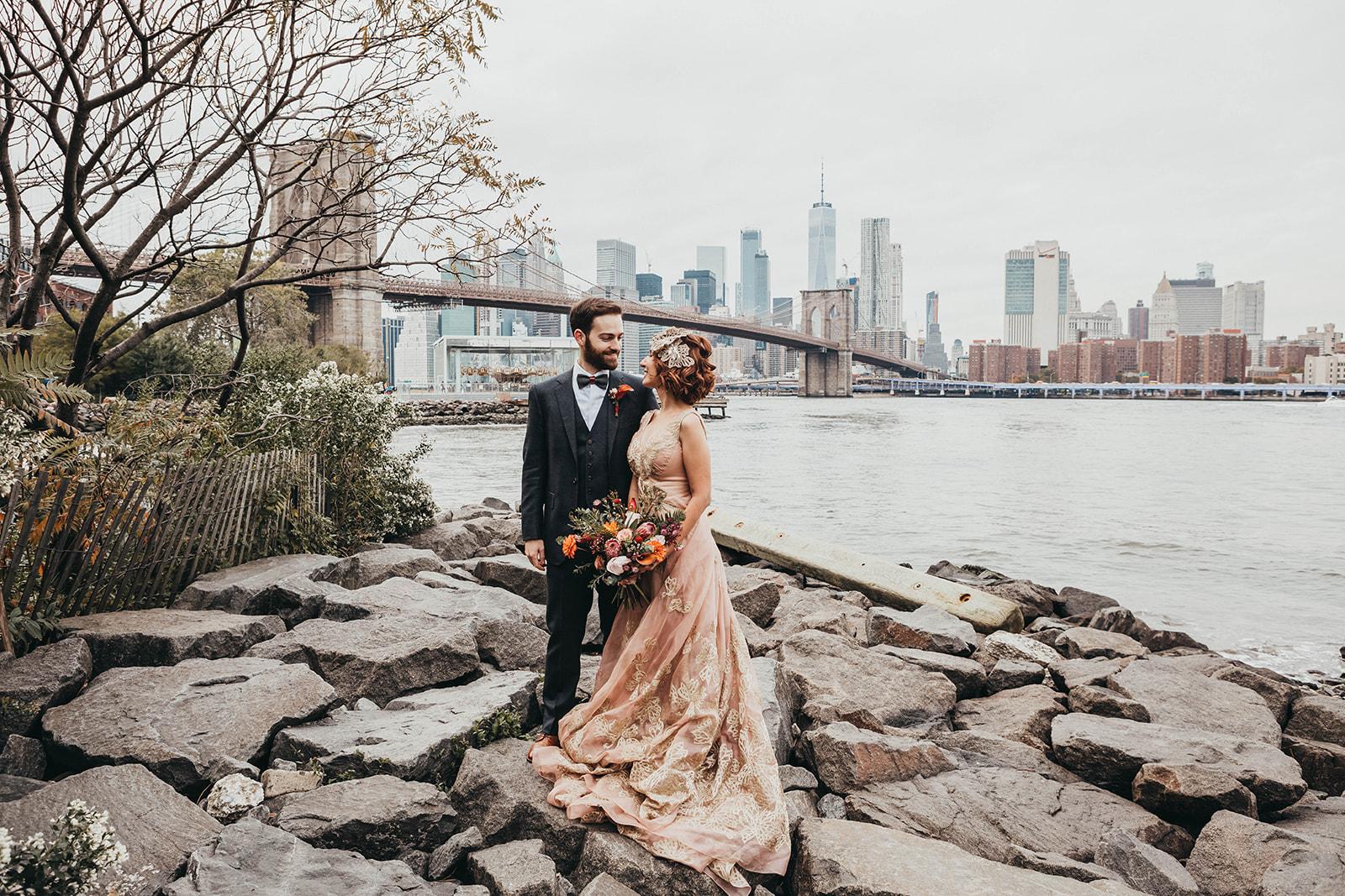 Blush, rose, gold wedding gown with butterflies, victorian bridal trend, nyc wedding gown designer-304.jpg