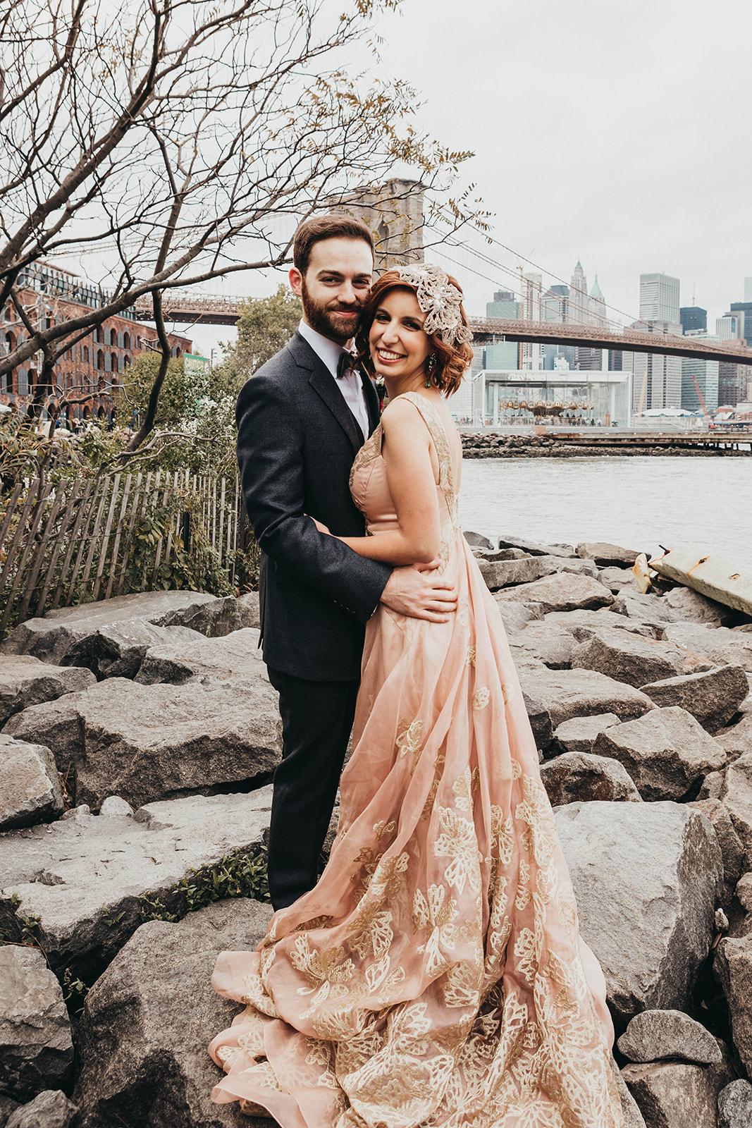 Blush, rose, gold wedding gown with butterflies, victorian bridal trend, nyc wedding gown designer-329.jpg