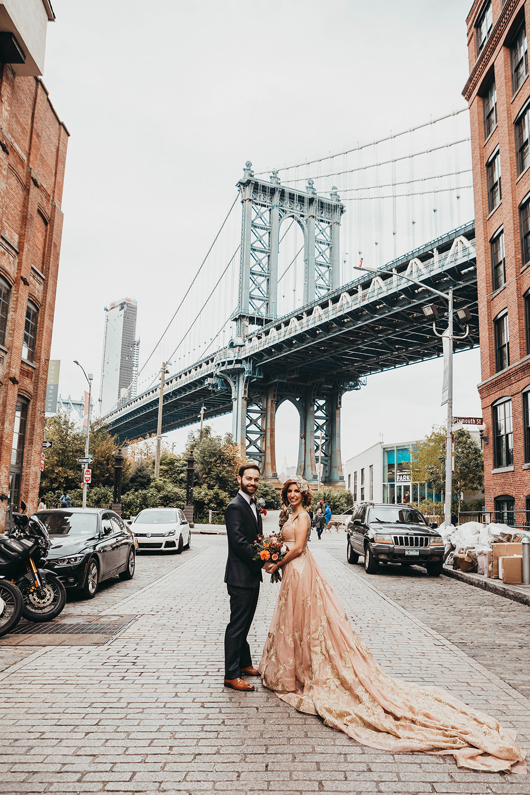Blush, rose, gold wedding gown with butterflies, victorian bridal trend, nyc wedding gown designer-359.jpg