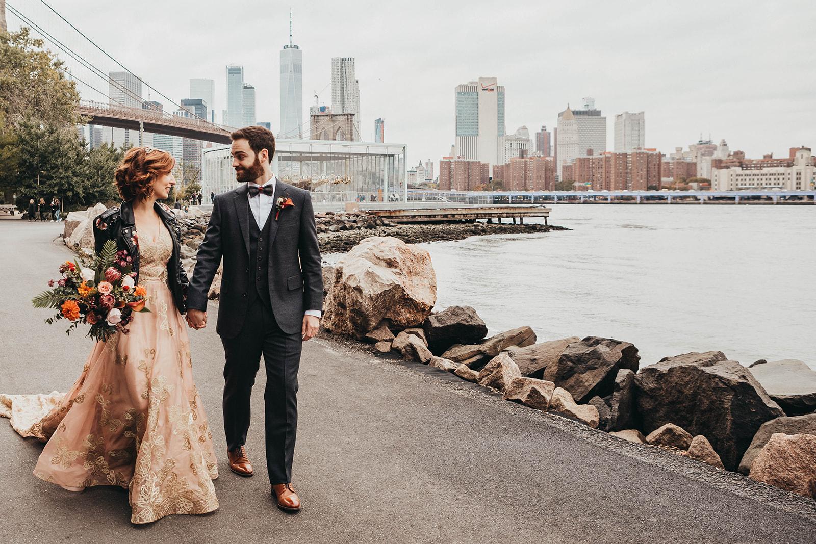 Blush, rose, gold wedding gown with butterflies, victorian bridal trend, nyc wedding gown designer-475.jpg