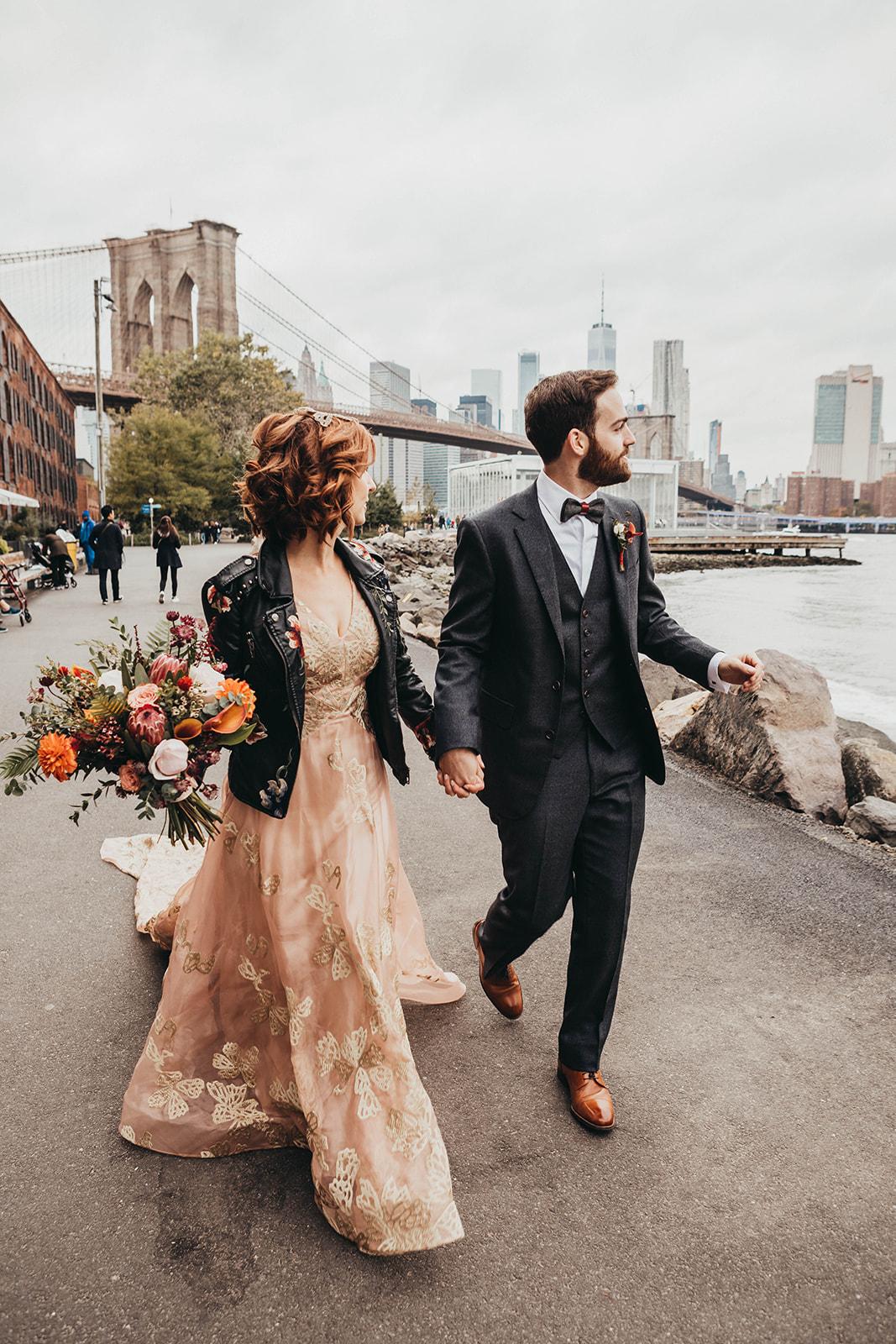 Blush, rose, gold wedding gown with butterflies, victorian bridal trend, nyc wedding gown designer-486.jpg