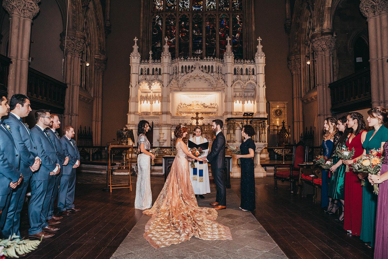 Blush, rose, gold wedding gown with butterflies, victorian bridal trend, nyc wedding gown designer-530.jpg