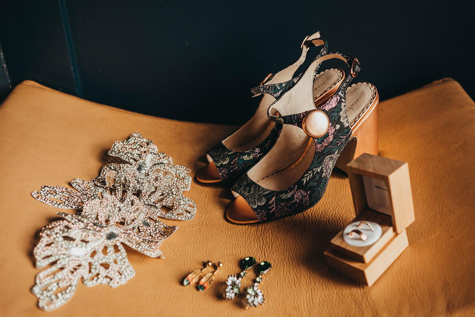 Blush, rose, gold wedding gown with butterflies, victorian bridal trend, nyc wedding gown designer.jpg