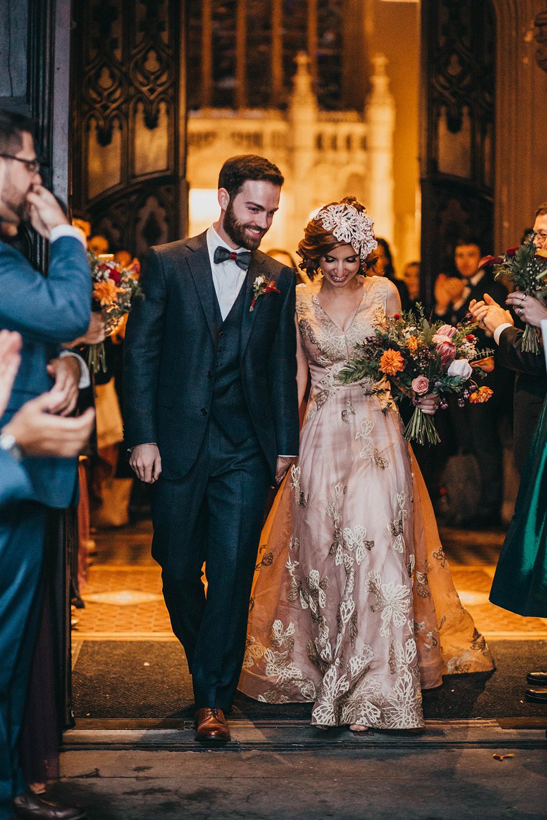 Blush, rose, gold wedding gown with butterflies, victorian bridal trend, nyc wedding gown designer-626.jpg