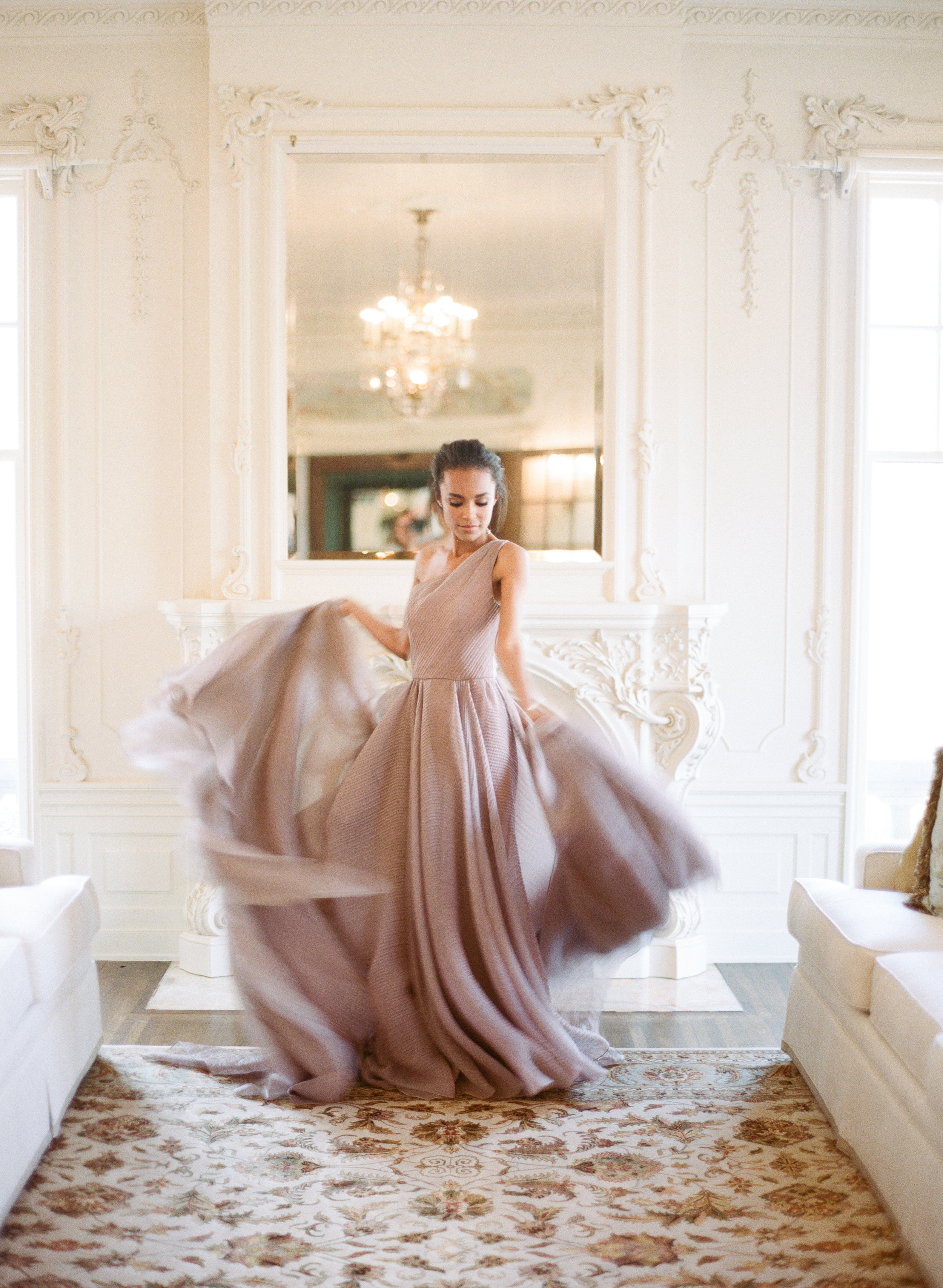 This Beautiful Purple And White Wedding Dress From Www