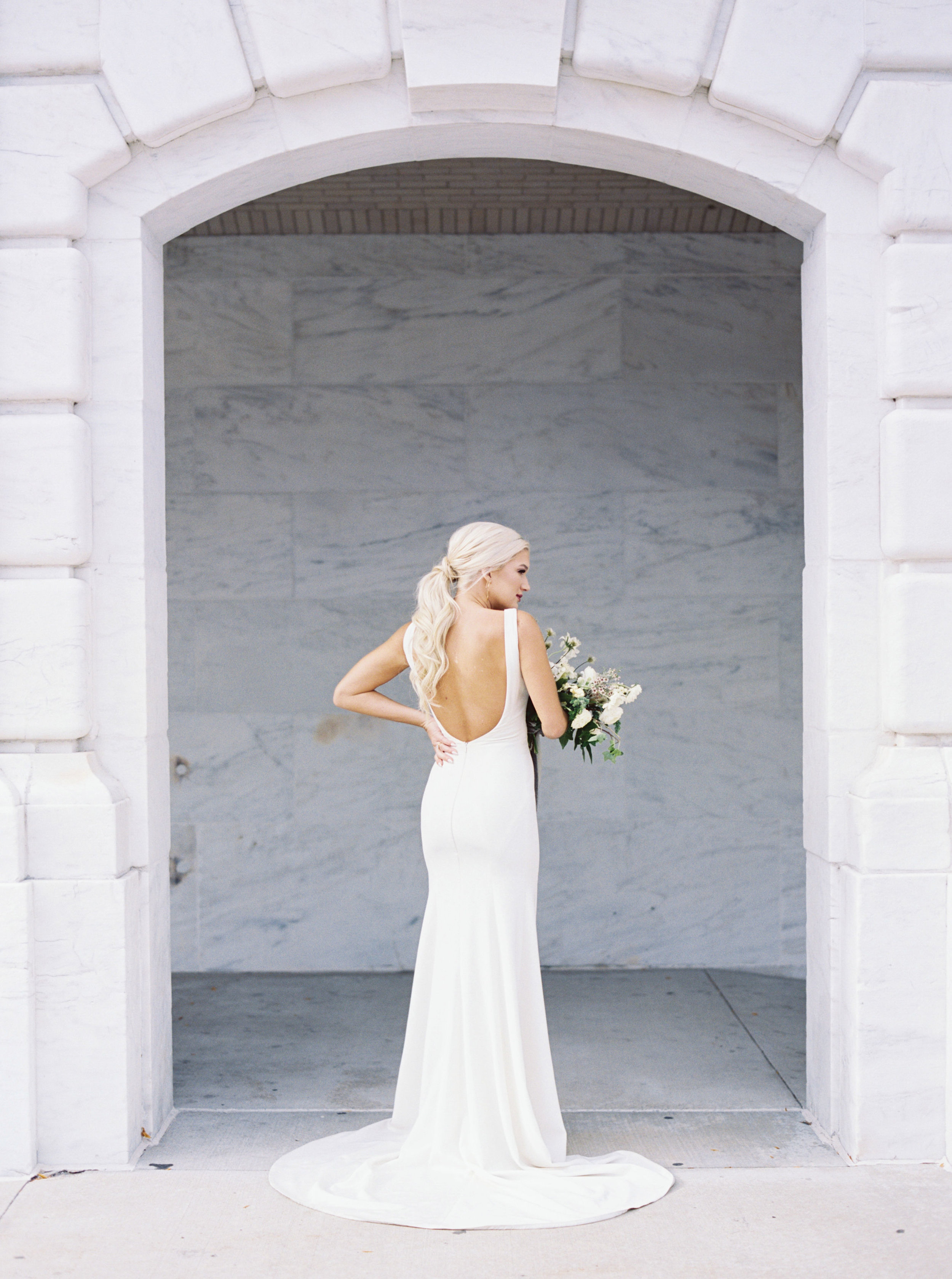 V neck open back trumpet wedding gown  nyc bridal shop(24).jpg