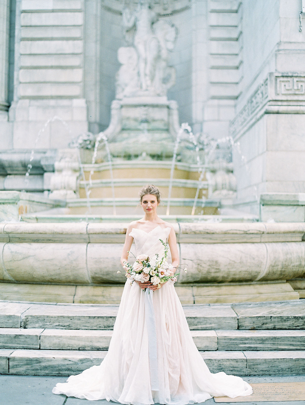 alla prima draped linen wedding gown at new york public library2.jpg