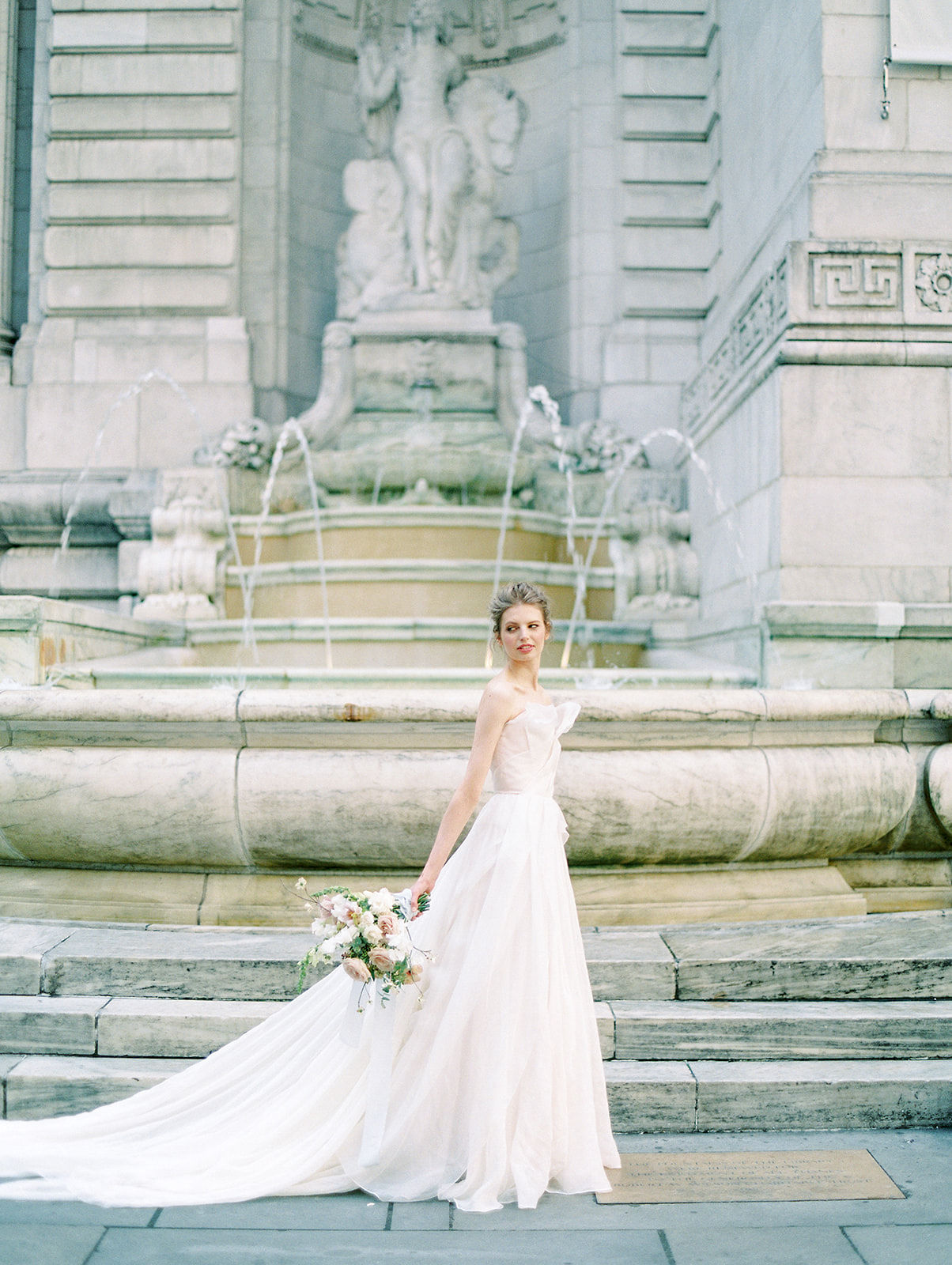 alla prima draped linen wedding gown at new york public library3.jpg