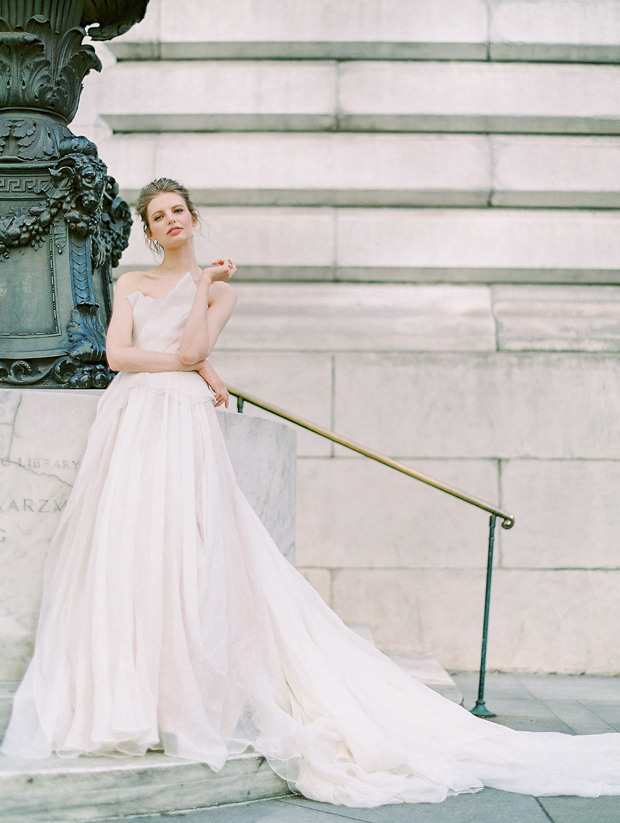 alla prima draped linen wedding gown at new york public library10.jpg