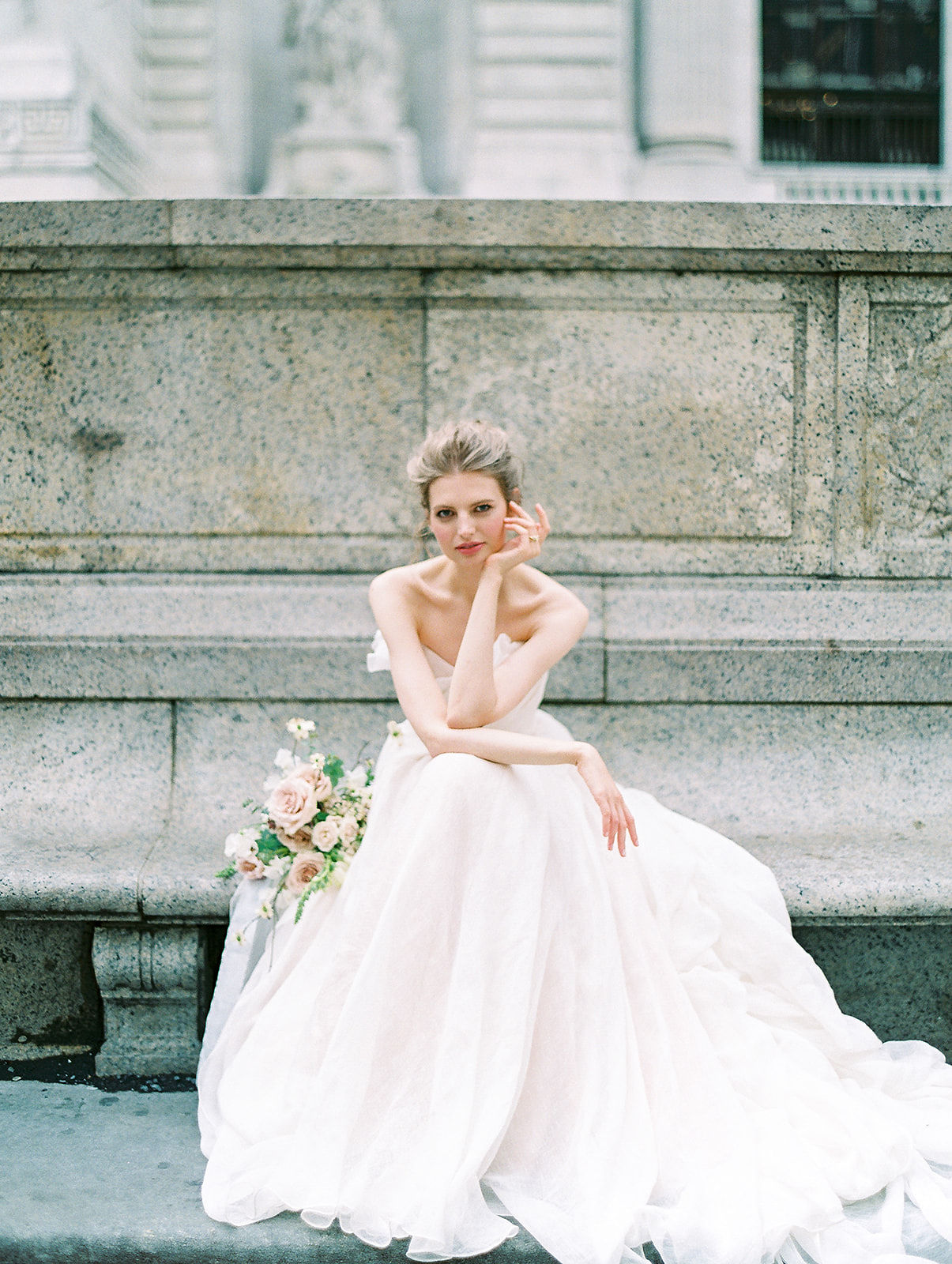 alla prima draped linen wedding gown at new york public library18.jpg