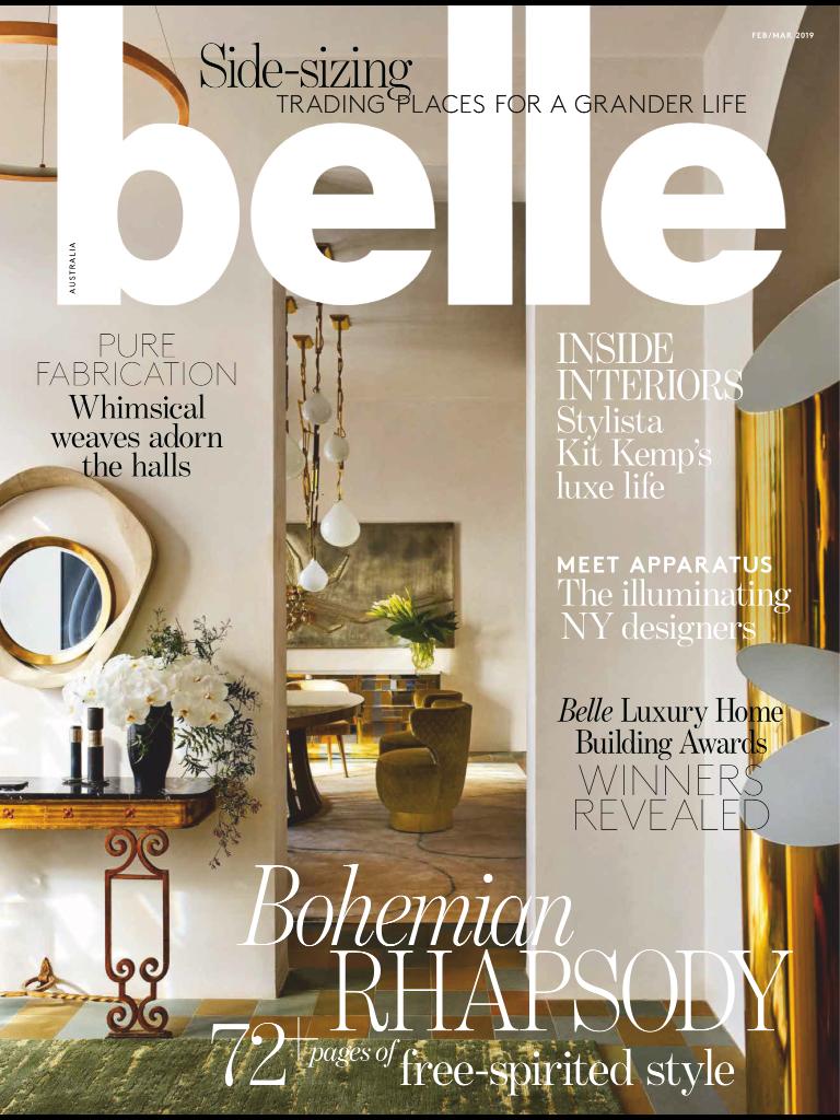 BELLE MAGAZINE • Feb 2019