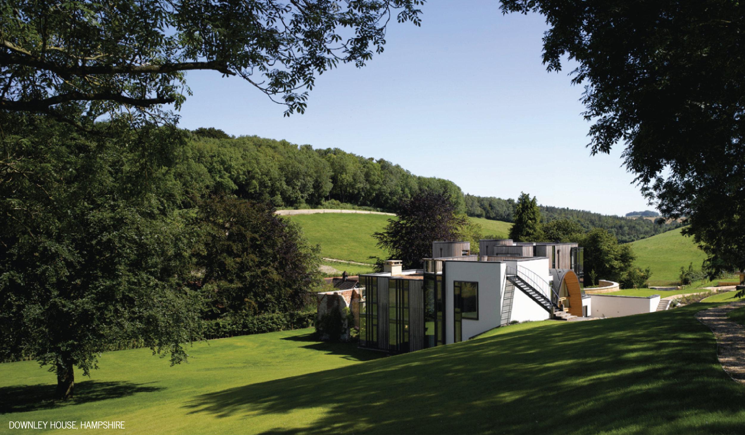Downley House Landscape View