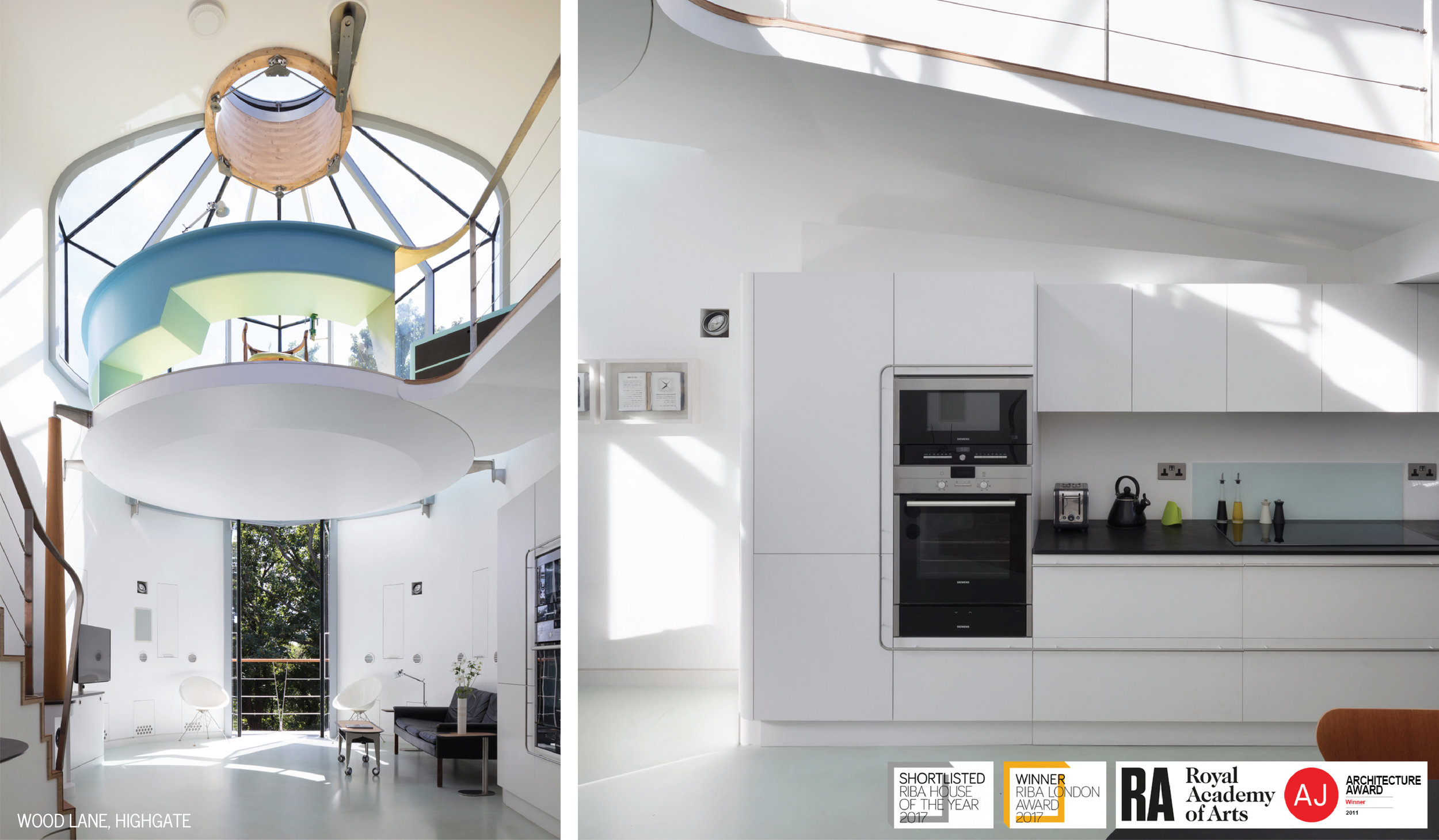 6 Wood Lane Living Area + Kitchen