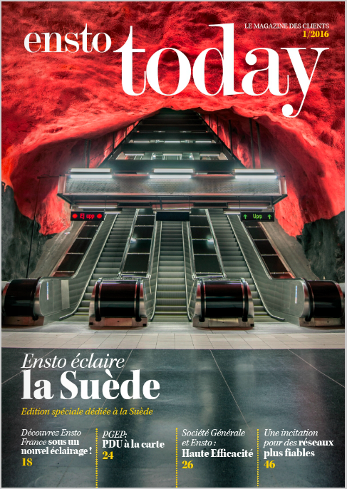 Société Générale et Ensto: Haute Efficacité+PGEP: PDU à la carte - Ensto Today (France), May 2016