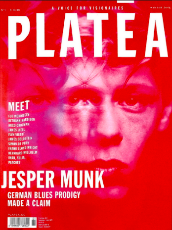 Models in the raw - Platea Magazine, Issue 1, November 2015