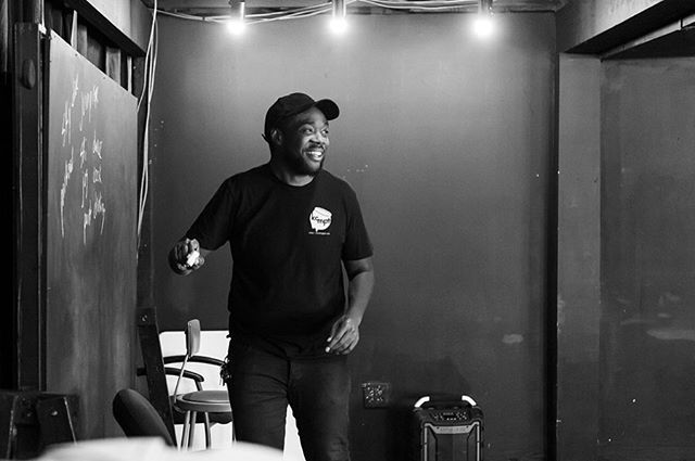 I had the opportunity to snap some photos of the first week of Tribe University, an improv class led by facilitator/hero @treyster_tre at the Blackbox on Troost and it was a blast!! ❤️ Thank you for having me #kansascity #kcimprov #improvkc #blackboxontroost #kcphotographer #bts #libbyzandersphoto
