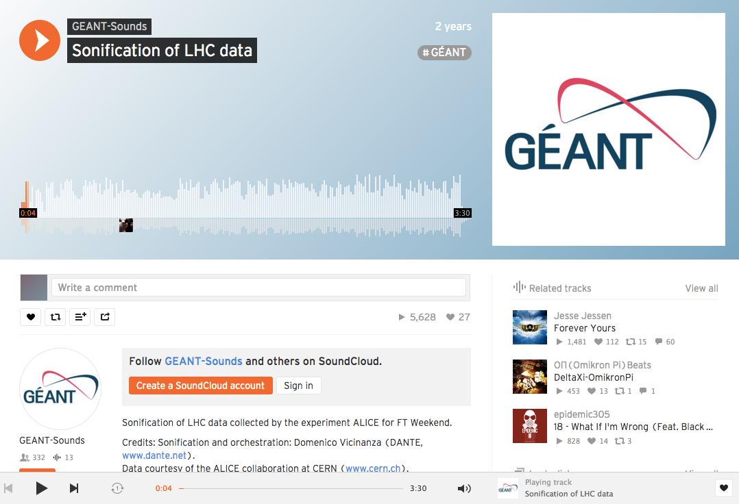 https://soundcloud.com/geant-sounds/sonification-of-lhc-data