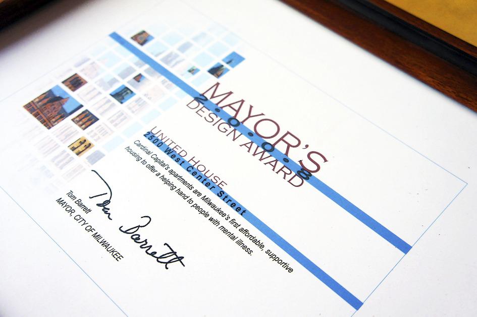 2009 Mayor's Award