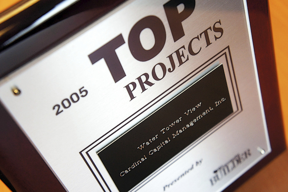 2005 Wisconsin Top Builder Projects Award