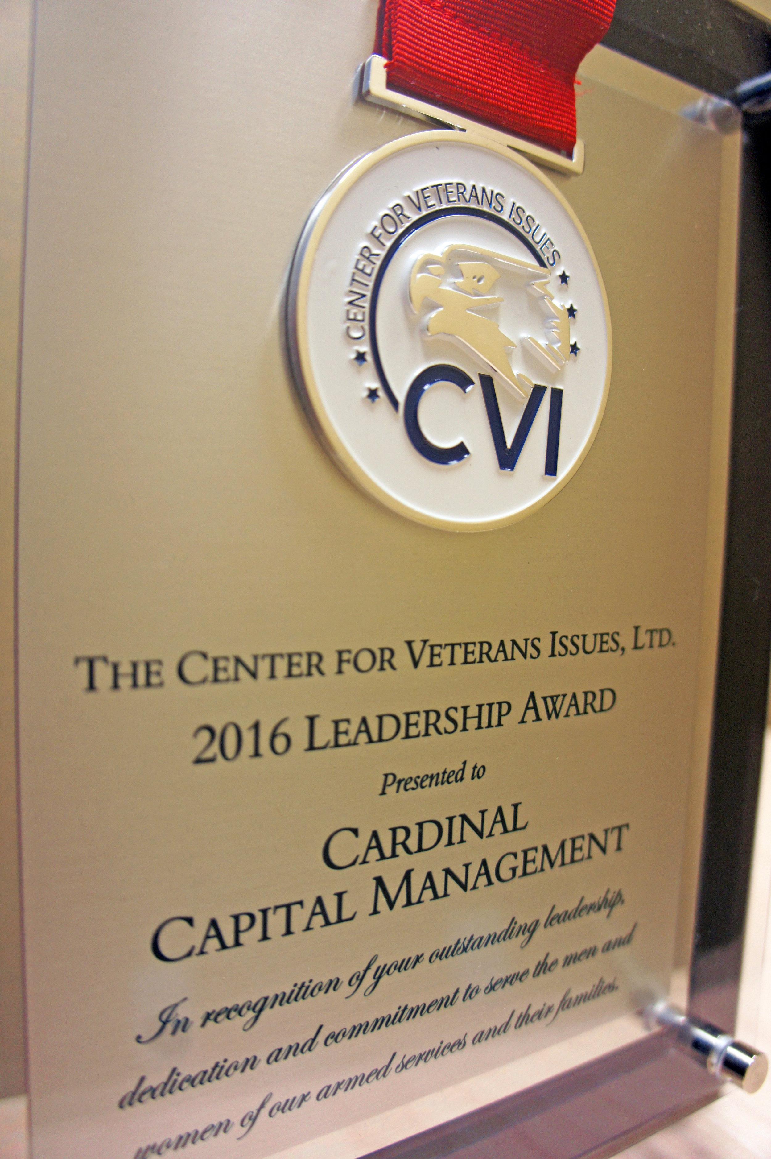 2016 Leadership Award