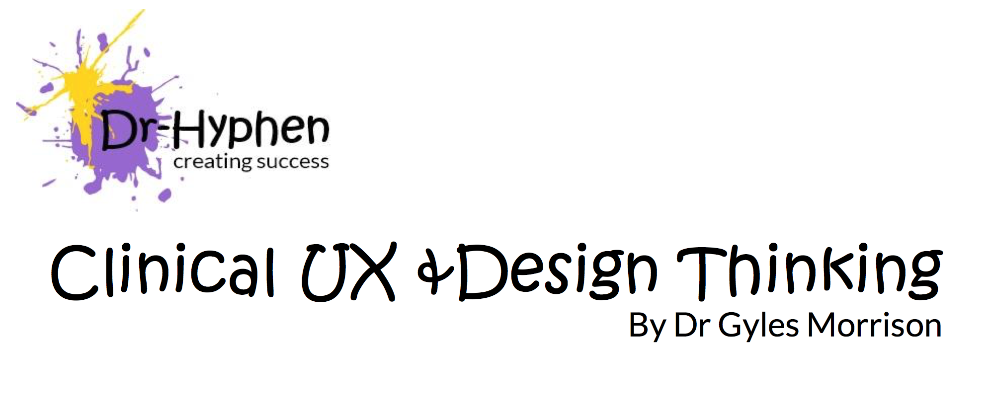 Clinical UX and Design Thinking