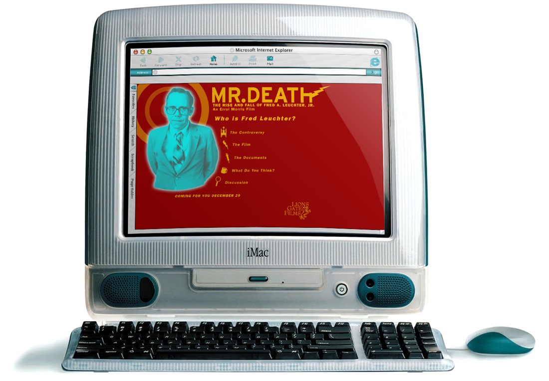 """The original iMac's 13.8"""" (viewable) screen had a resolution of 800 x 600."""