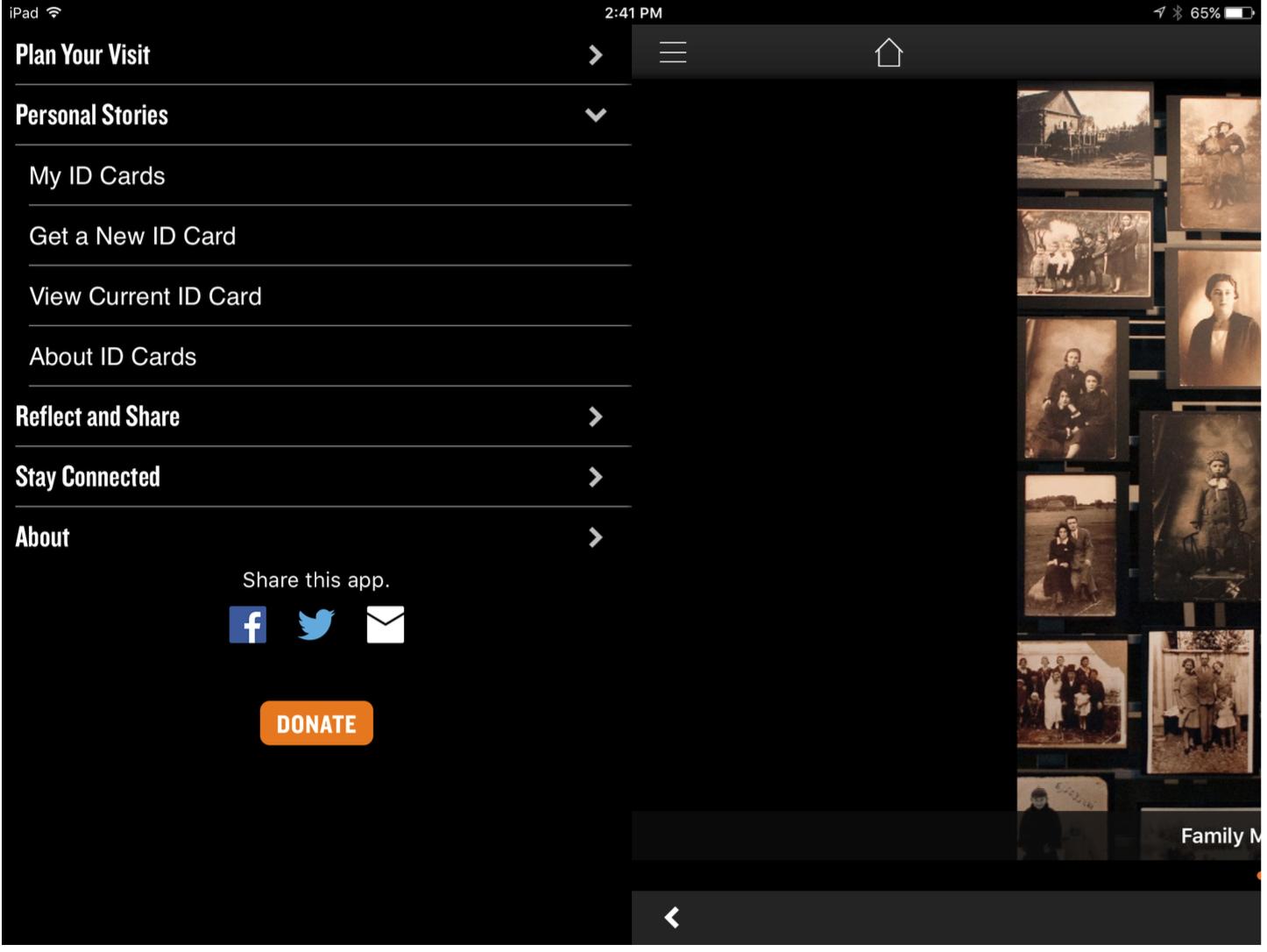 holocause app open design