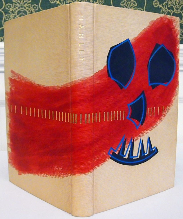 Glenn Bartley. I'm not a fan of representative or figurative artwork on bindings but I think this one works pretty well. It's bloody and has a good spooky vibe but isn't as ridiculous or silly as some can figurative work can be. And of course here the execution and technique look very solid.