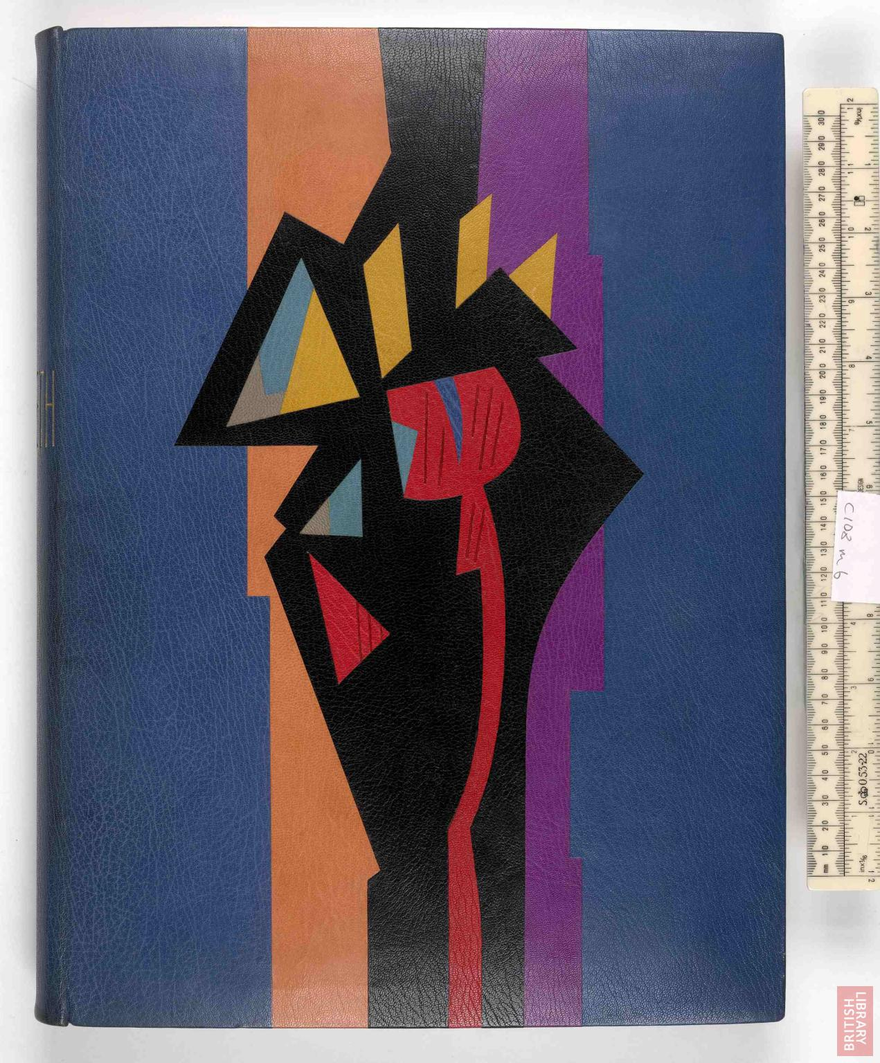 Ivor Robinson, binding dated 1960.  Macbeth.  Eaux-fortes de Gromaire, Paris, 1958.